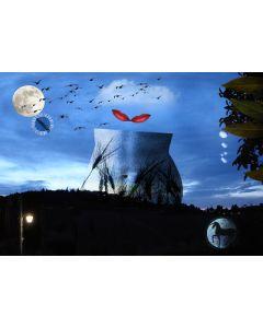Norma Picciotto, C'è un tempo per amare e un tempo per odiare, fotografia con elaborazione digitale, 30x40 cm
