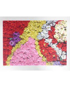 """Carlo Rizzetti, serigrafia su PVC neutro, 90x70 cm, tratta da Cartella """"Ama la natura"""""""