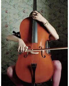 Maria Vittoria Backhaus, Fiori e Musica per Think Positive, fotografia, 70x50 cm