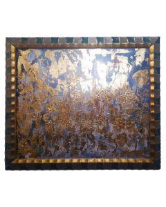 Francesco Cerutti, Chiedo che gli strati di oscurità siano dissolti e armonizzati nella luce, tecnica mista, 61x51 cm