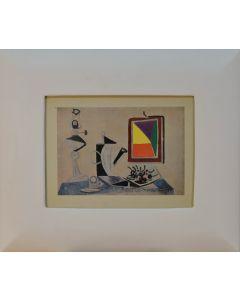 Pablo Picasso, Still Life (Nature morte au miroir), litografia, 27x19 cm