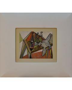 Pablo Picasso, Still Life, litografia, 17x21 cm