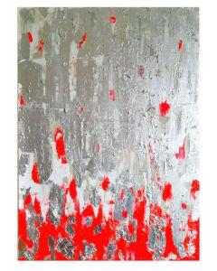 Francesco Cerutti, Essence, tecnica mista, 50x70 cm
