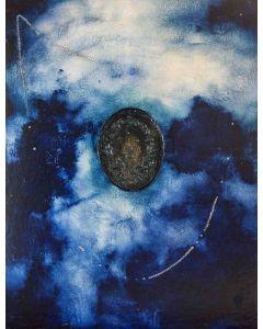 Enzo Rizzo, Ex Voto, olio e resina su tavola, 130x100 cm