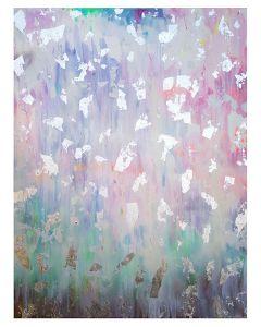 Francesco Cerutti, Luce, chiarezza e trasparenza, attraverso il respiro dissolvo le oscurità, tecnica mista, 70x90 cm