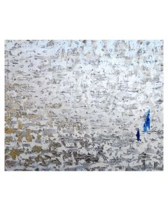 Francesco Cerutti, Possa la luce illuminare il mio cammino, tecnica mista, 100x120 cm
