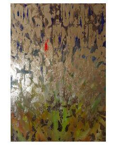 Francesco Cerutti, Possano l'amore e la bellezza riempire ogni aspetto della mia vita, tecnica mista, 100x70 cm