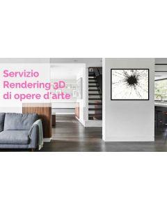 Servizio rendering 3D di opere d'arte online