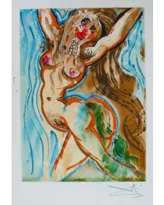 Salvador Dalì, Le Femme Cheval, litografia, 36x56 cm tratta da Les Chevaux de Dalì, 1970-72