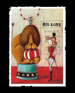 Giulia Del Mastio, Big Love, Grafica Fine Art, 30x40 cm