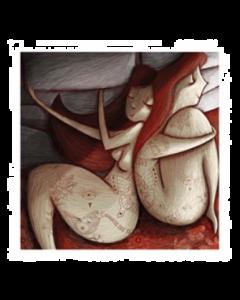 Giulia Del Mastio, Lei e Lei, Grafica Fine Art, 30x30 cm