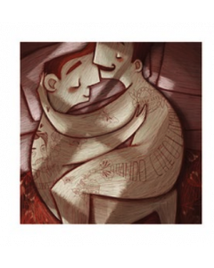 Giulia Del Mastio, Lui e Lui, Grafica Fine Art, 30x30 cm