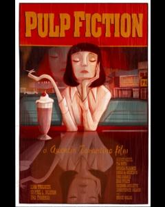 Giulia Del Mastio, Pulp Fiction 2, Grafica Fine Art, 30x43 cm
