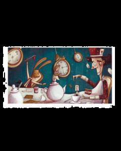 Giulia Del Mastio, Un Tè da Matti, Grafica Fine Art, 48x30 cm