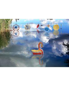 Norma Picciotto, Dolce è la luce, fotografia con elaborazione digitale, 30x40 cm