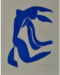 Henri Matisse, La chioma, litografia, 38x28 cm