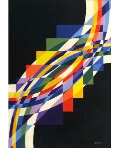 Filippo Scimeca, Il tempo che parlo, acrilico e olio su tela, 85x60 cm