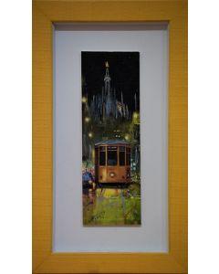 Pisati da Milano, El Dom, retouché, 7,5x23 cm