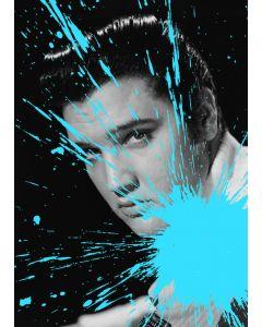 Julian T, Elvis Presley, stampa digitale su PVC, 80x60 cm, 2015