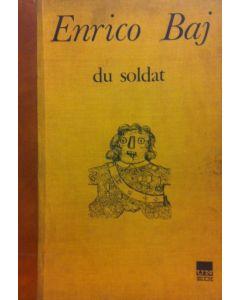Enrico Baj, Du soldat, libro d'artista che contiene 2 litografie a colori, 74,5x53 cm (con custodia) e 69x49,5 cm (dimensione di ogni illustrazione)