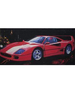 Pisati da Milano, Ferrari, retouché, 40x20 cm