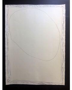 Lucio Fontana, Serie Rosa #2, acquaforte e acquatinta, 75x56 cm, 1966