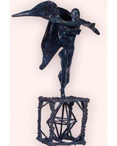 Salvador Dalì, Gala gradiva, scultura in bronzo patinato - fusione a cera persa, 89,5x48x45 cm, 1970