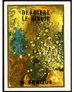 Georges Braque, Copertina rivista Derriere le Miroir n. 48-49 anno 1952, 28x38 cm