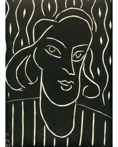 Henri Matisse, Teeny, linoincisione, 32x24,7 cm