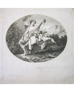 William Hogarth, Hymen and Cupid, acquaforte, 32x29 cm