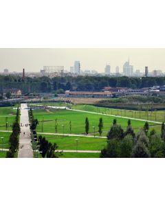 Francesco Langiulli, Il verde di Parco Certosa e lo skyline meneghino
