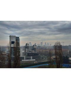 Francesco Langiulli, Il WJC e lo skyline  di Milano d'inverno