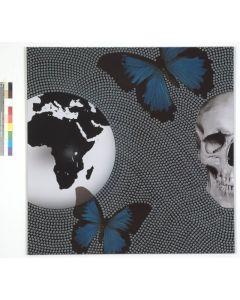 Marco Veronese, SOS World,  C-print e silicone su supporto in legno, teca in plexiglass, 100x100 cm