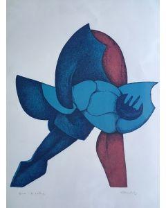 Imer Guala, Senza TItolo, LItografia, 50x70 cm, P.A.