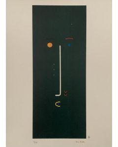 Bruno Budassi (Del Buda), Personaggio stellare (viso verde), Grafica, 32x 45 cm