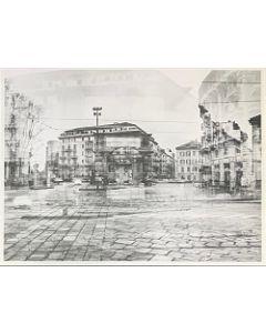 Gaetano Alfano, Porta Romana, fotografia su carta, 55,5x42 cm