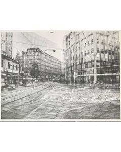Gaetano Alfano, Via Torino, fotografia su carta, 55,5x42 cm