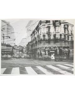 Gaetano Alfano, Corso di Porta Vittoria, fotografia su carta, 55,5x42 cm
