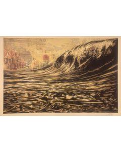 Obey, Dark Wave, serigrafia, 90x61 cm