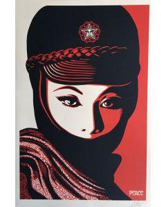Obey, Mujer Fatale, serigrafia, 90x61 cm
