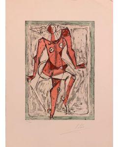 Isaac Kahn, Danseur, Acquaforte e acquatinta, 56x76 cm