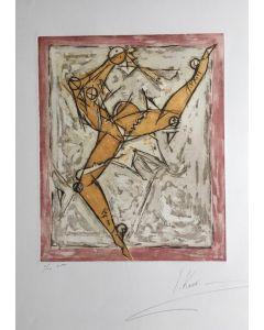 Isaac Kahn, Danseur, Acquaforte e Acquatinta, 56x76 cm, 1/10