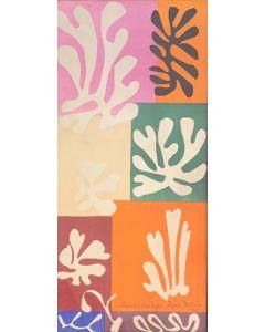 Henri Matisse, Fleurs De Neige, fotolitografia d'apres, 32x15 cm, 1952