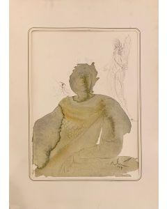 Salvador Dalì, Soldato di Cristo, Litografia, 50x36 cm (con passepartout 70x50 cm)