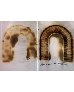 Bernard Aubertin, Livre Brulé Rosenberg, Libro bruciato, 31x45 cm, 2010
