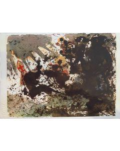 Salvador Dalì, Venga il tuo regno..., tratto da Paternoster, litografia, 42x30 cm, 1980/84