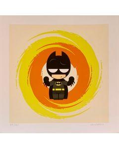 Paolo Gallinaro, I'm Not Batman, Grafica Fine Art, 30x30 cm