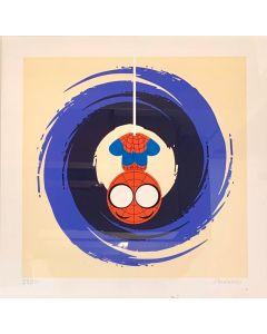 Paolo Gallinaro, I'm Not Spiderman, Grafica Fine Art, 30x30 cm