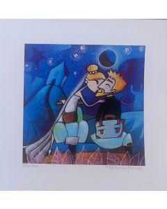 Tiziana Biuso, Sidecar sposi, Retouchè, 20x20 cm