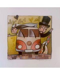 Tiziana Biuso, Volkswagen, retouchè, 20x20 cm